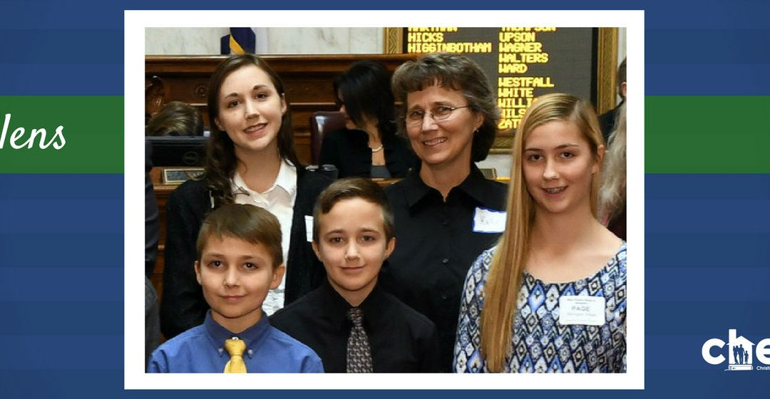 Our First Home School Day at the Capitol