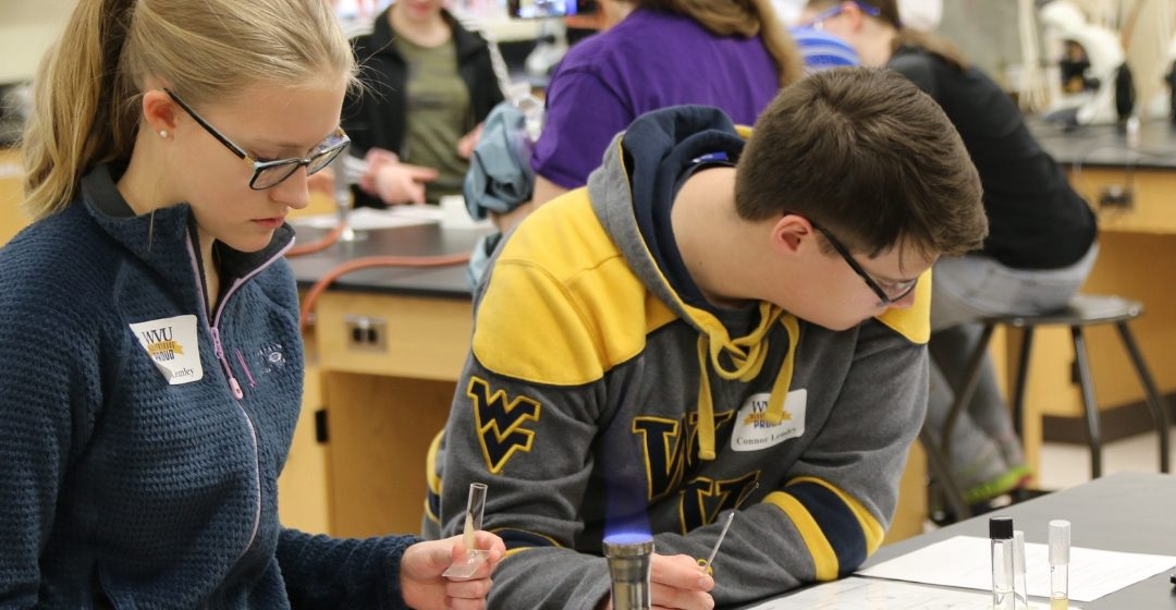 WVUP Hosts Science Labs for Homeschoolers